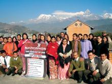 Narconon Nepal, geleitet von einem ehemaligen Polizei-Inspektor, hat bis jetzt für etwa 1,3 Millionen Menschen Vorträge zur Drogenaufklärung gehalten.